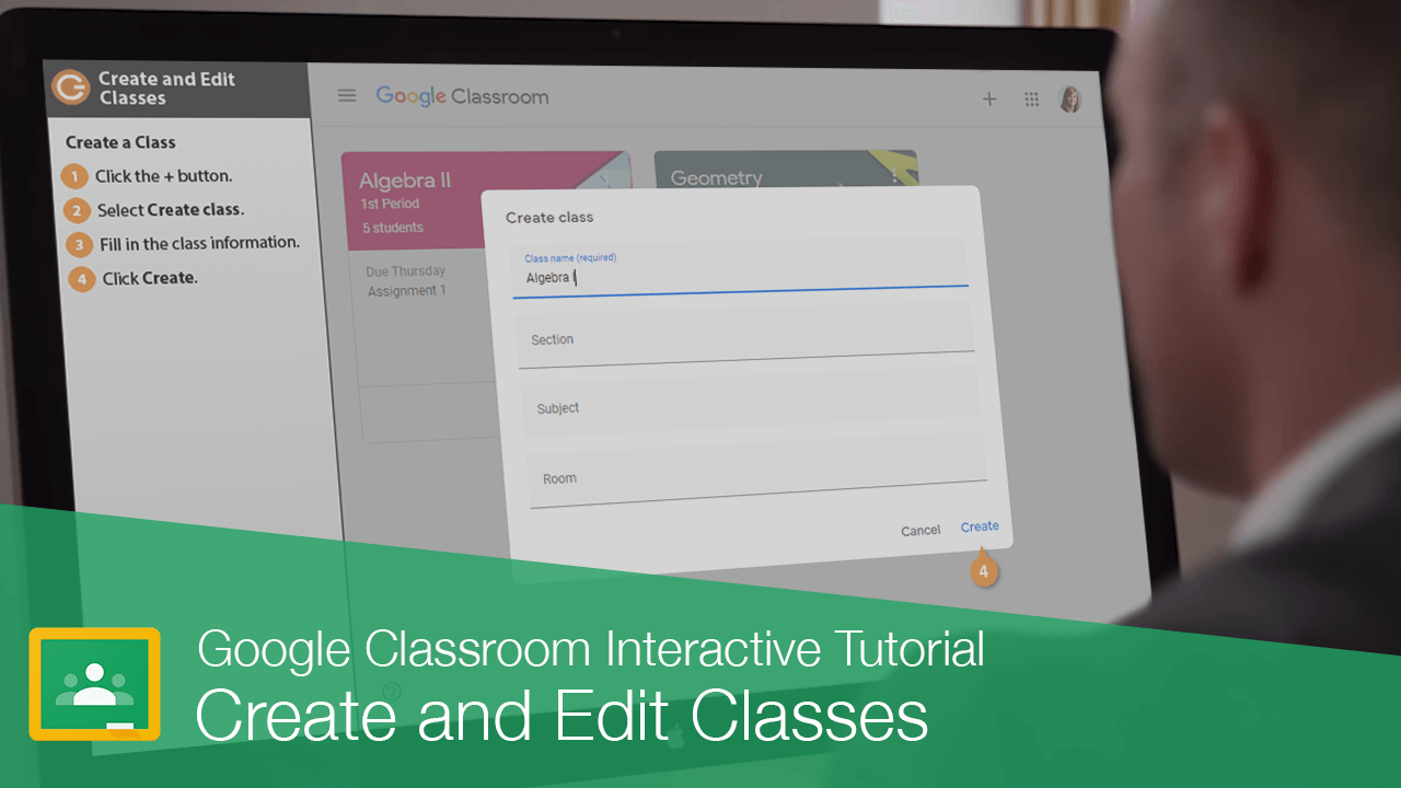 Create and Edit Classes