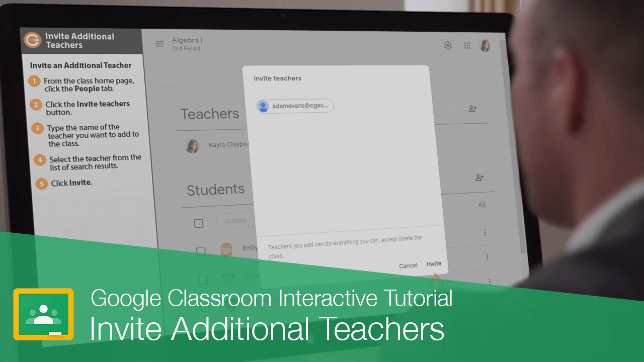 Invite Additional Teachers