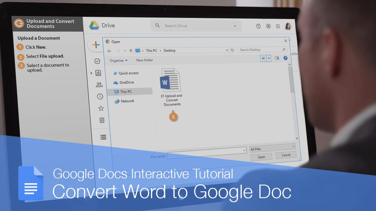 Convert Word to Google Doc