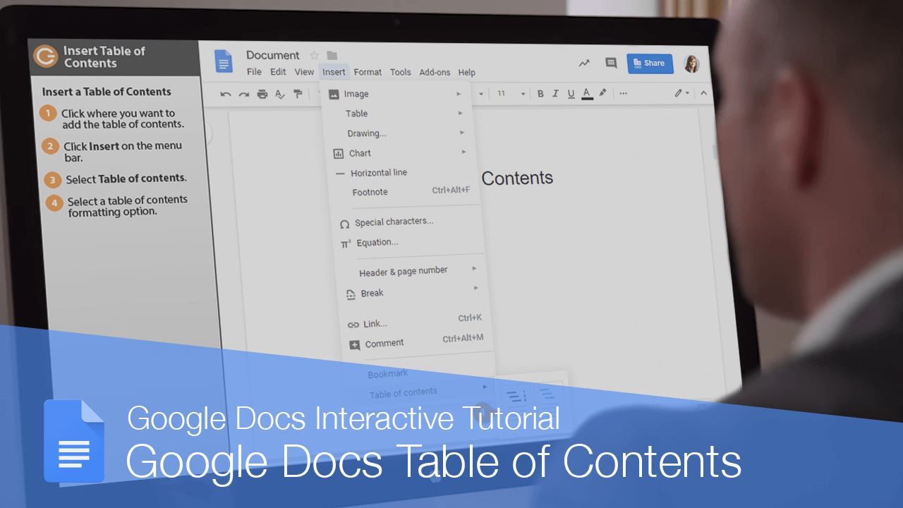 Google Docs Table of Contents
