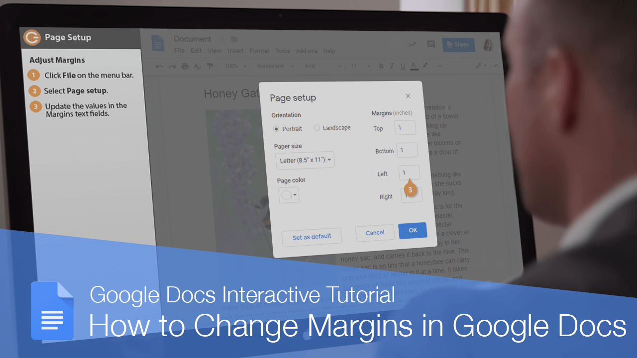 How to Change Margins in Google Docs