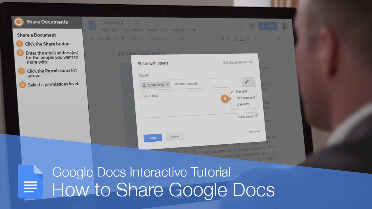 How to Share Google Docs
