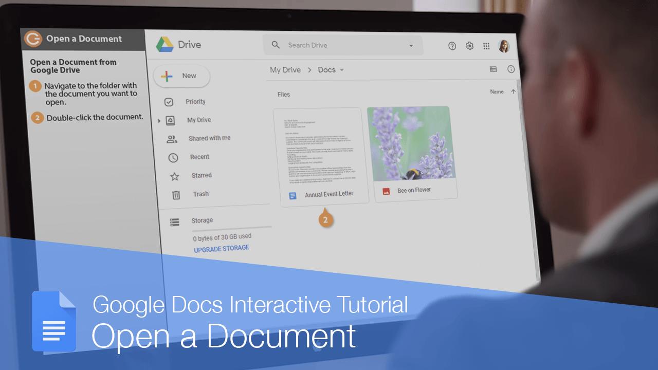 Open a Document