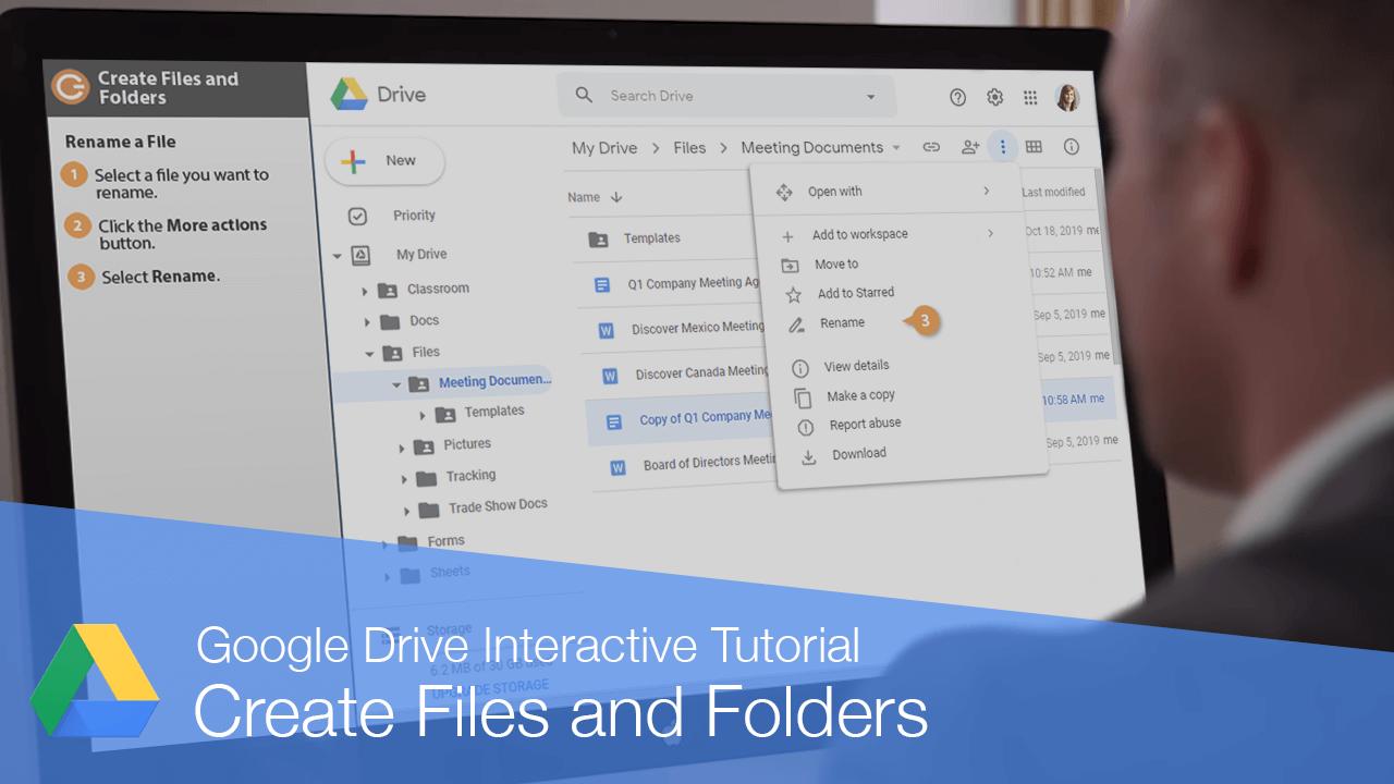 Create Files and Folders