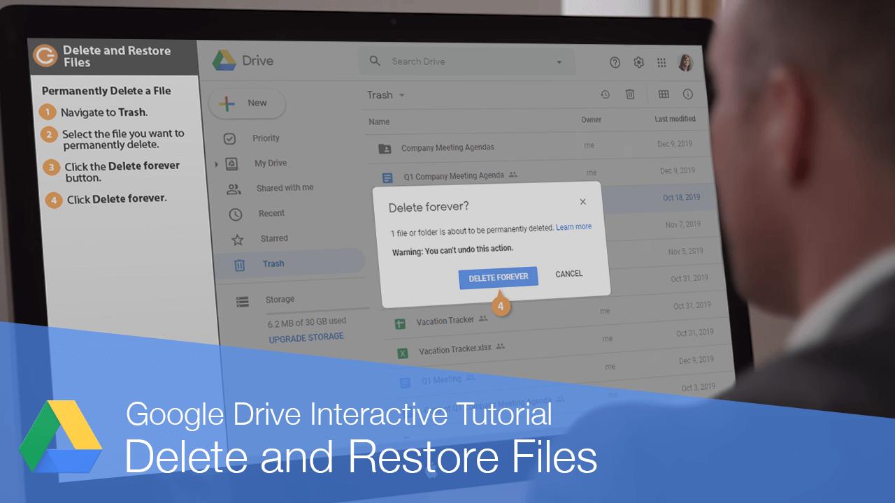 Delete and Restore Files