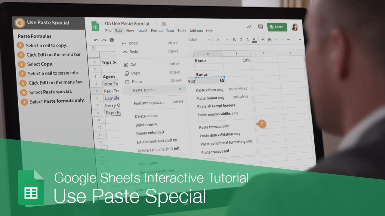 Use Paste Special
