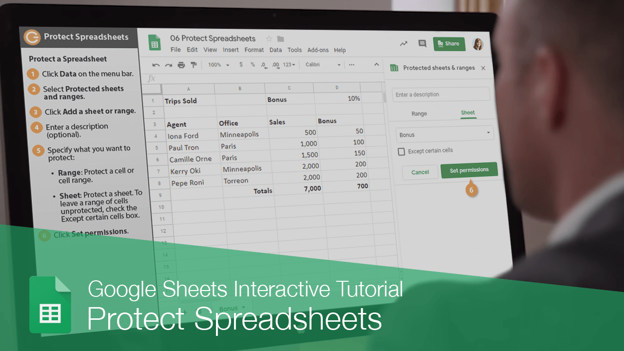Protect Spreadsheets