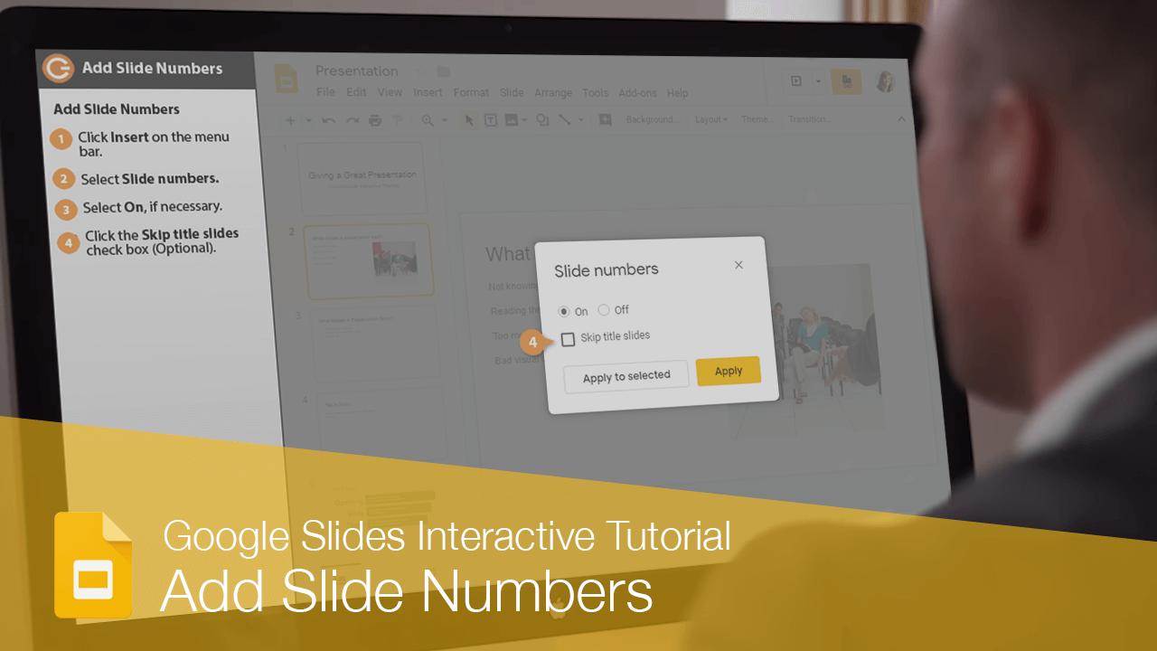 Add Slide Numbers