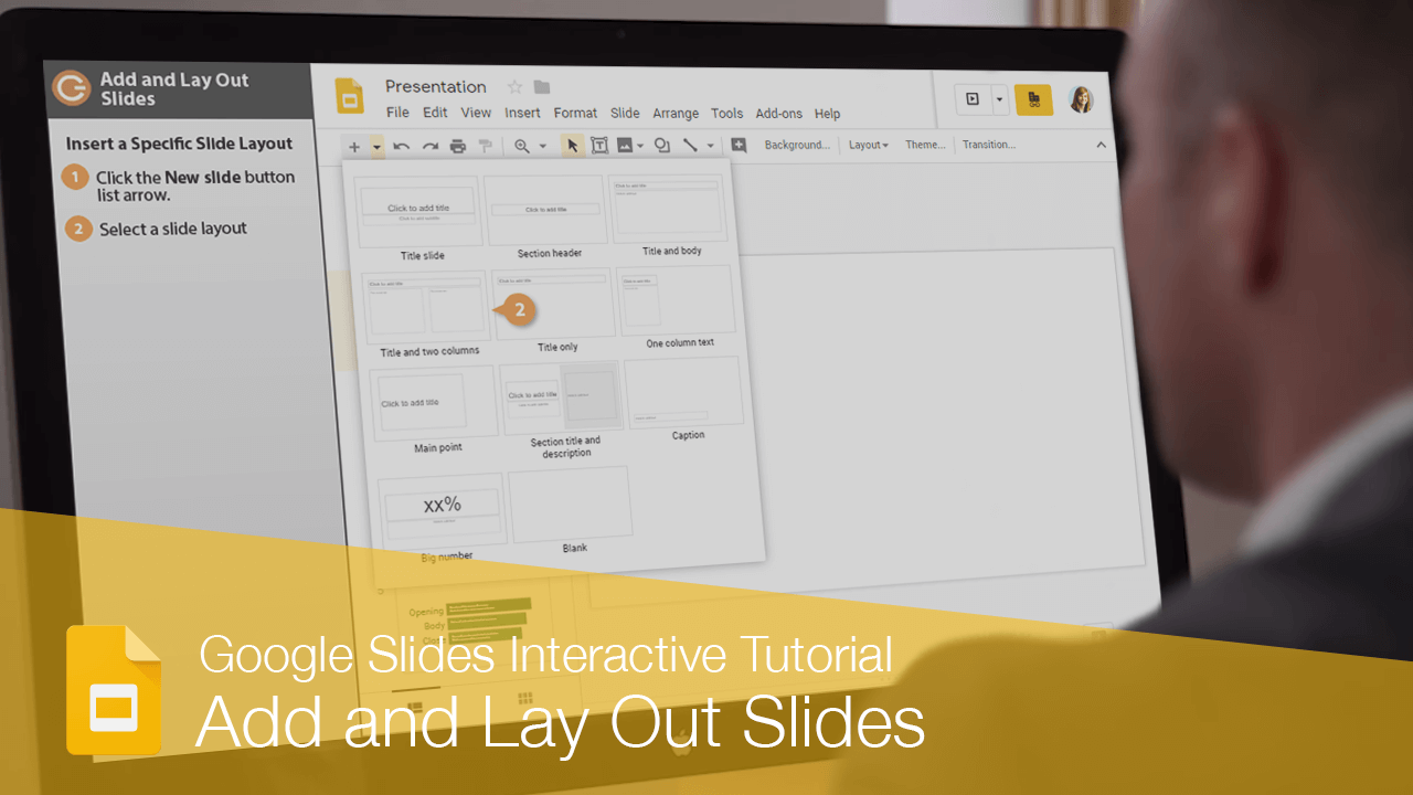 Add and Lay Out Slides