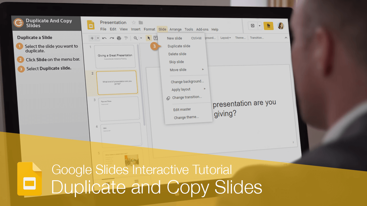 Duplicate and Copy Slides