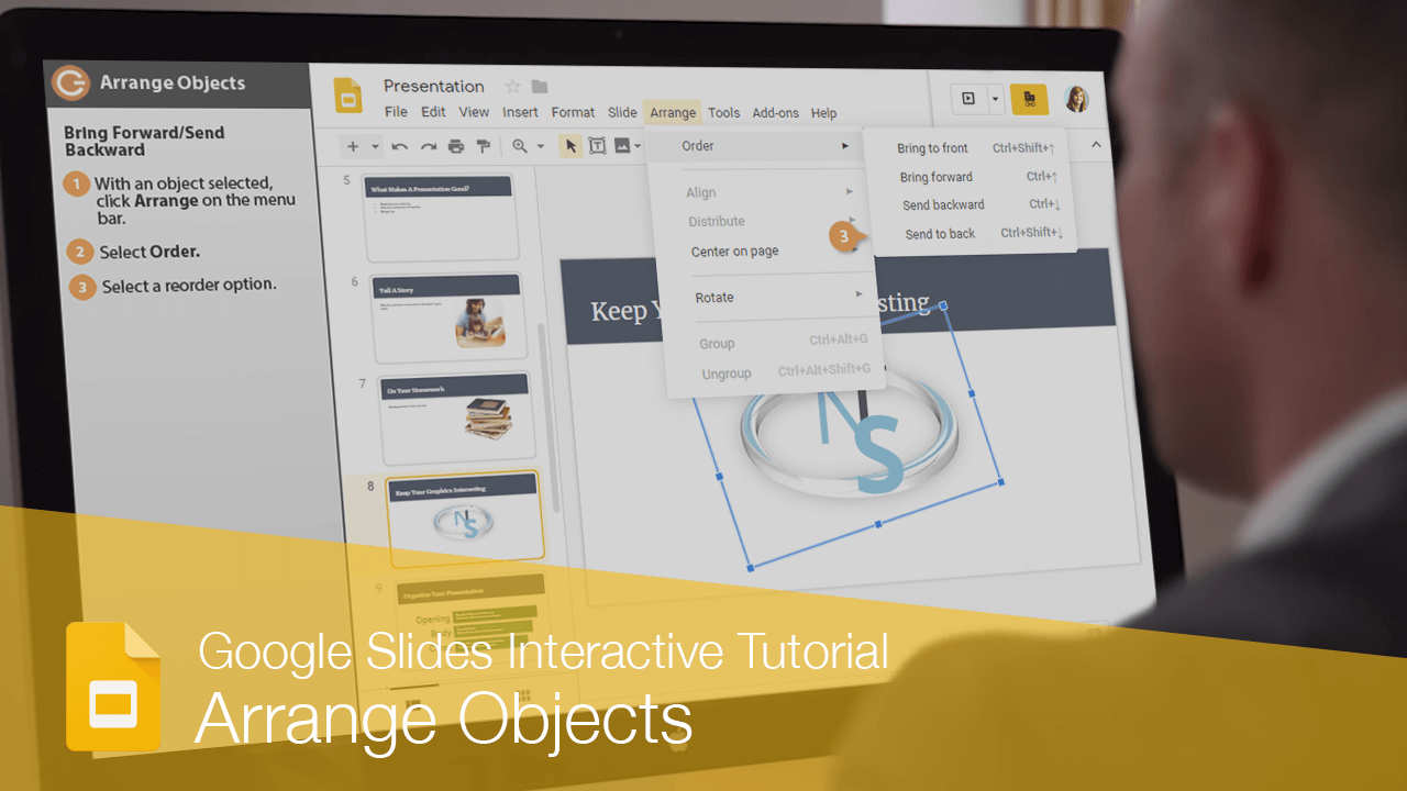 Arrange Objects
