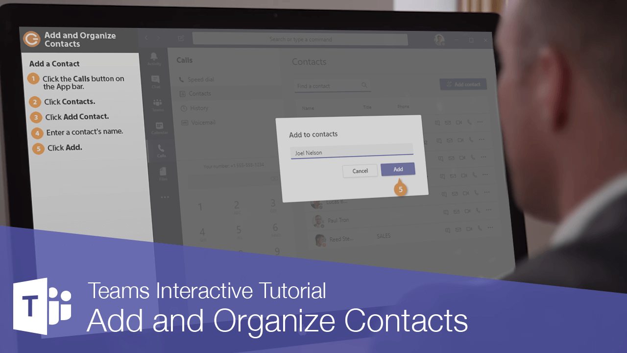 Add and Organize Contacts