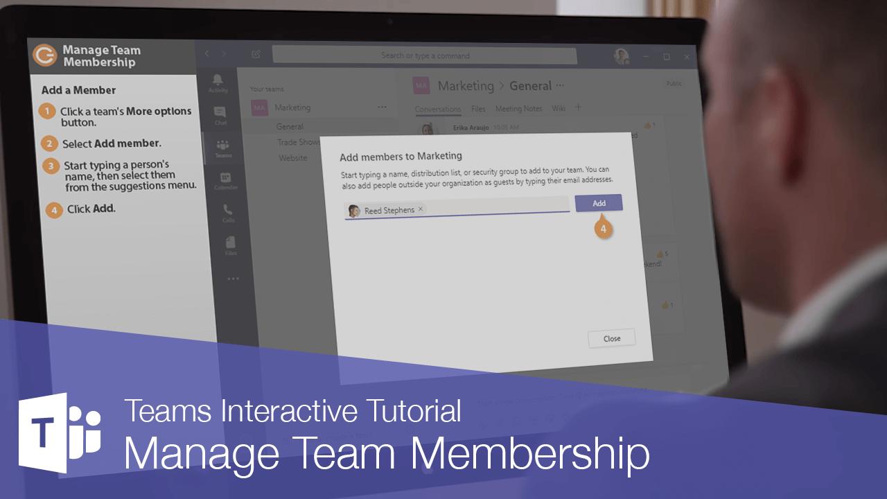 Manage Team Membership