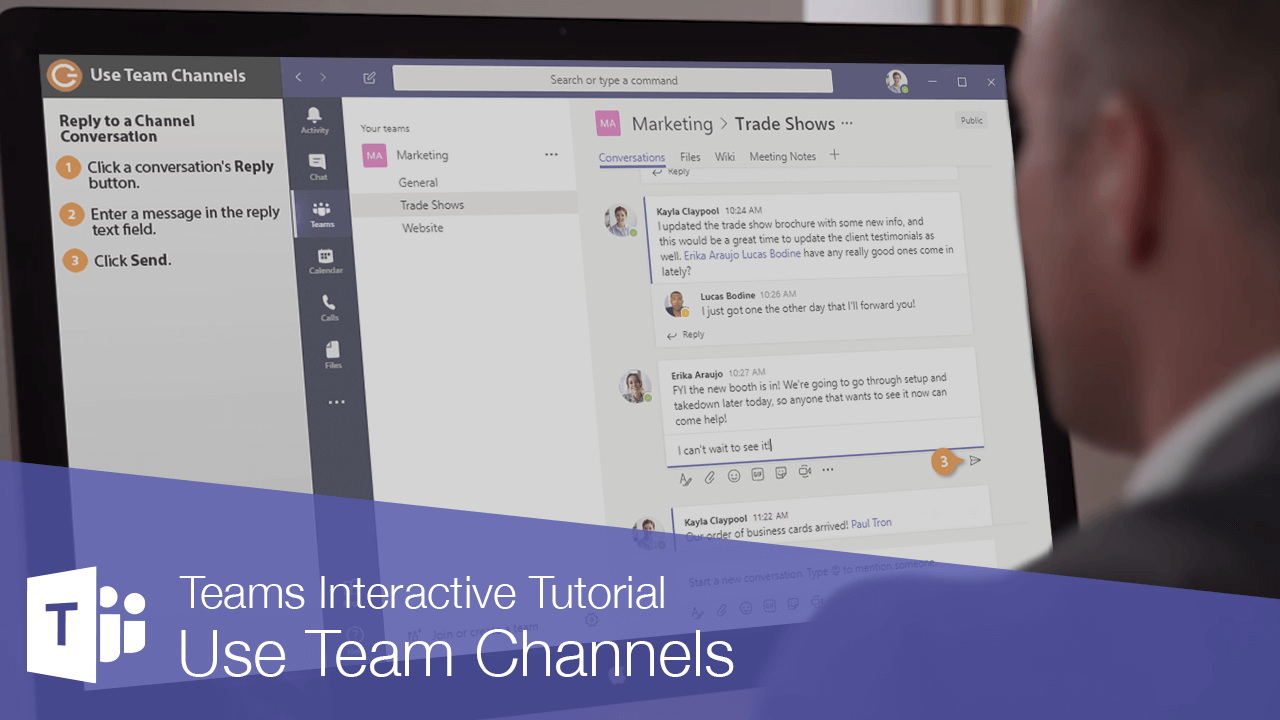 Use Team Channels