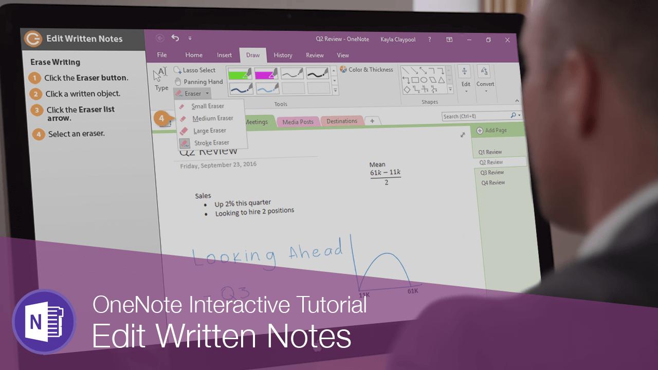 Edit Written Notes
