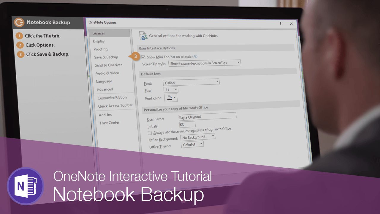 Notebook Backup