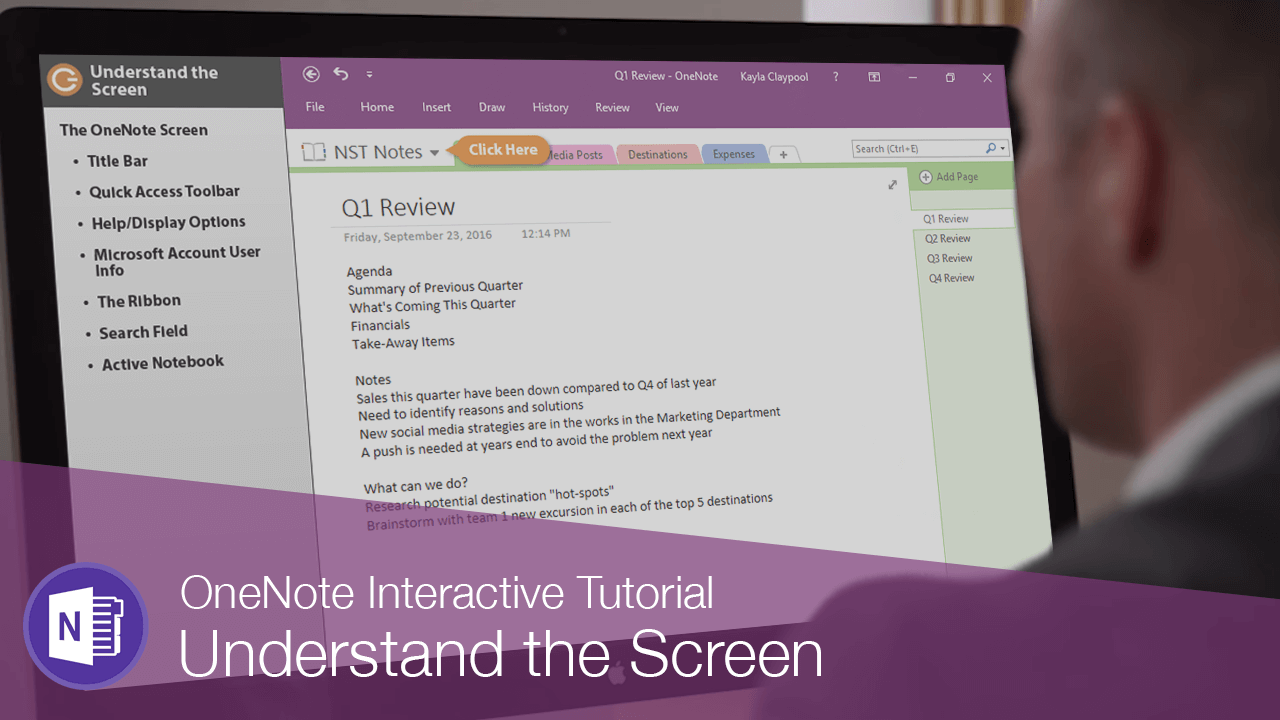 Understand the Screen