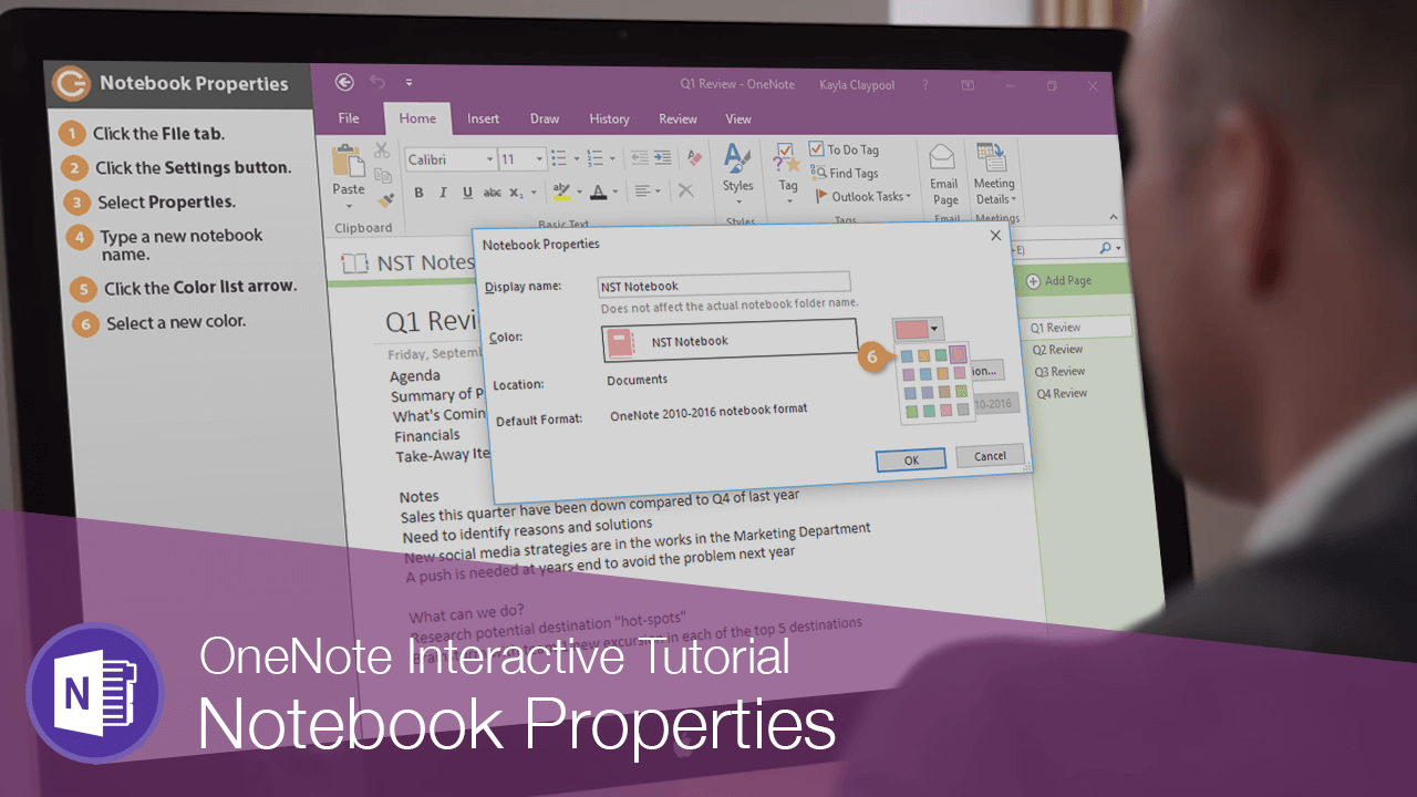 Notebook Properties