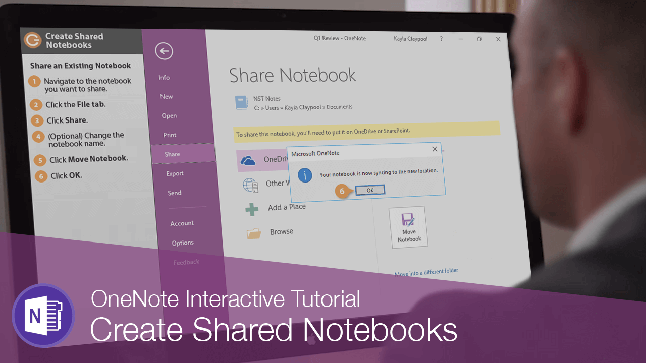 Create Shared Notebooks