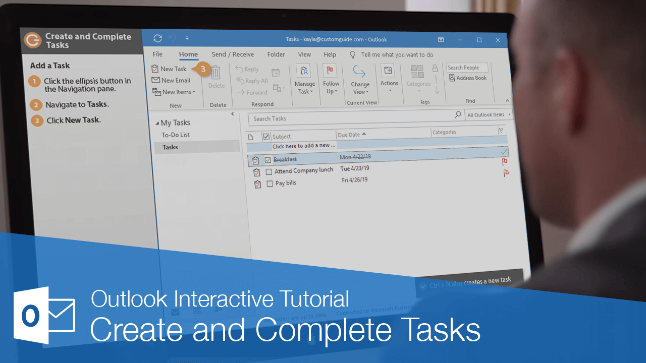 Create and Complete Tasks
