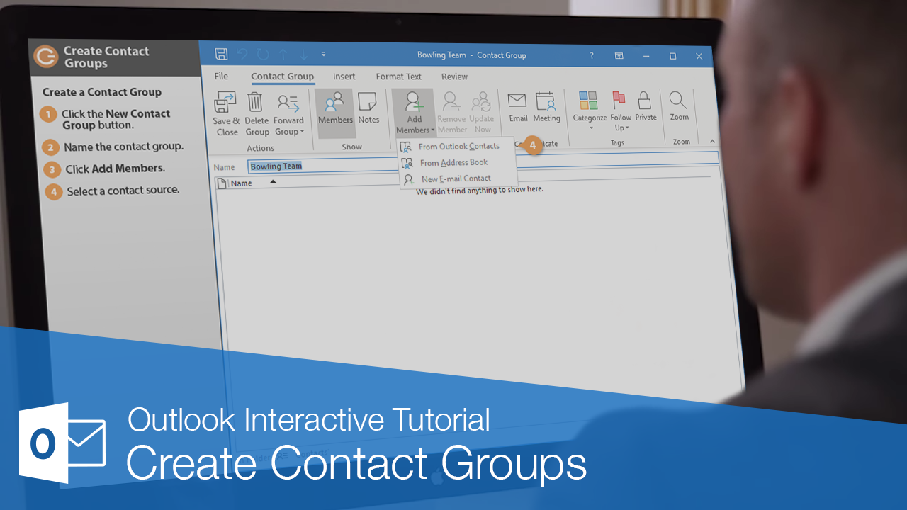 Create Contact Groups