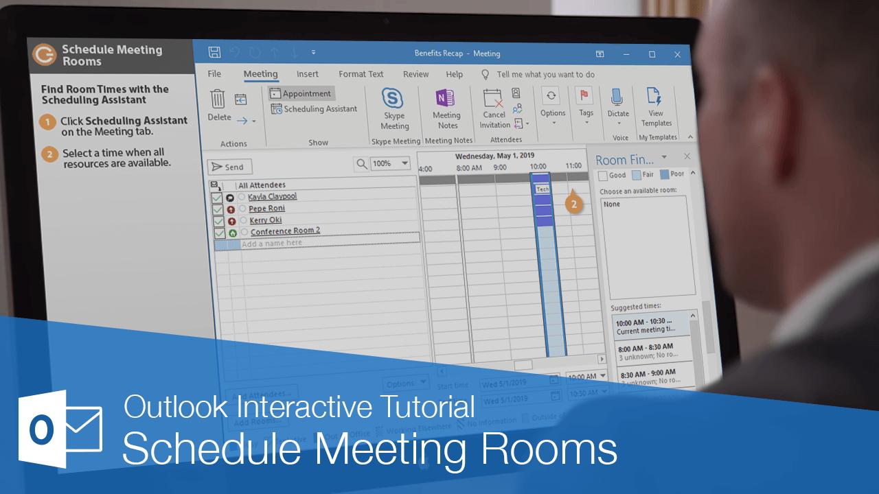 Schedule Meeting Rooms