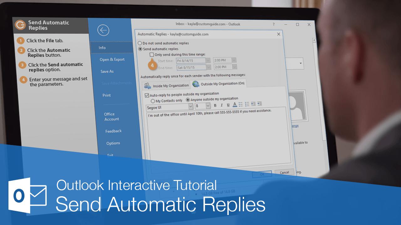 Send Automatic Replies