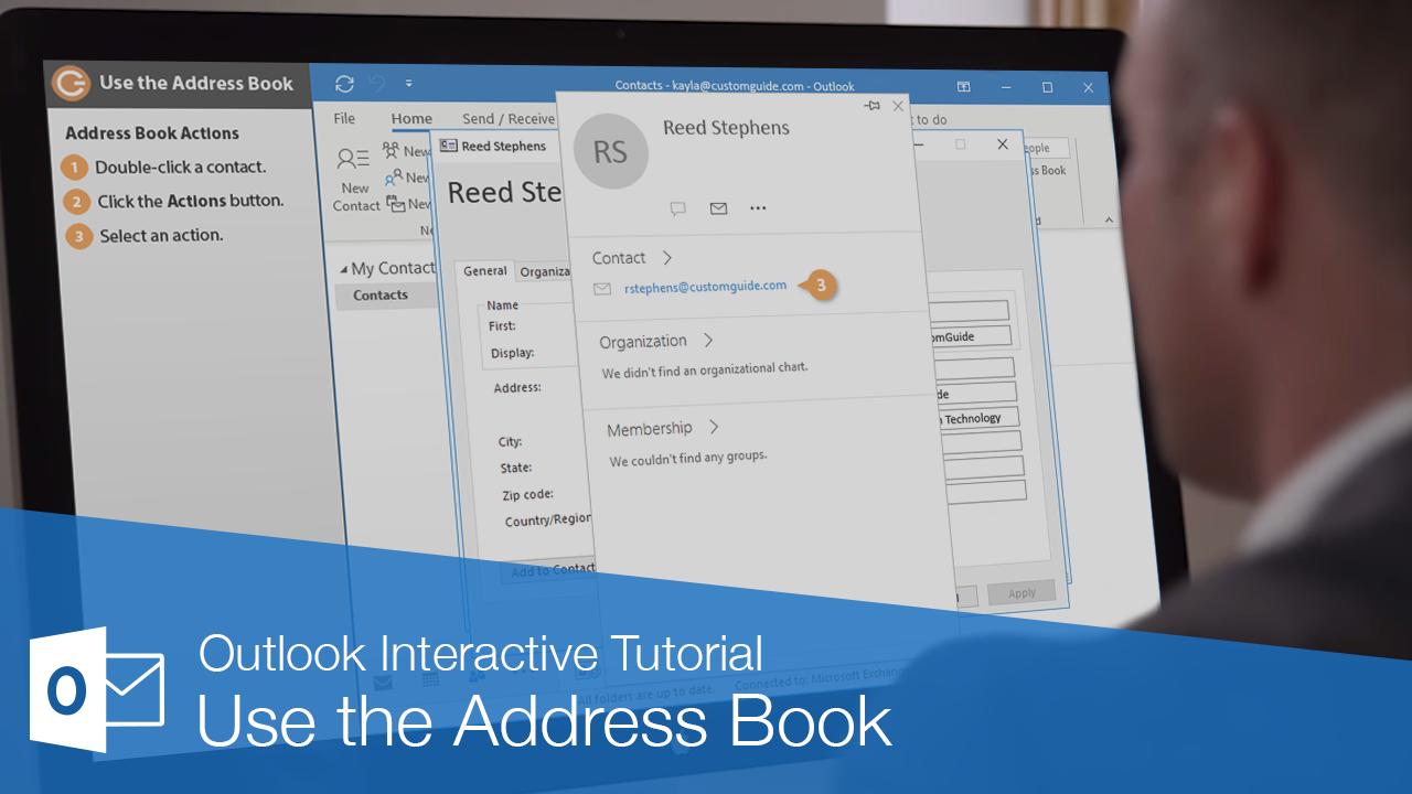 Use the Address Book