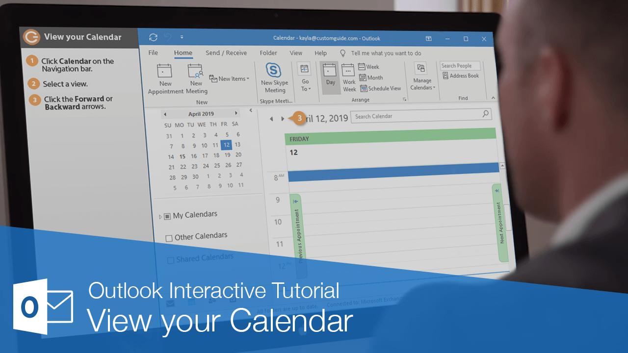 View your Calendar