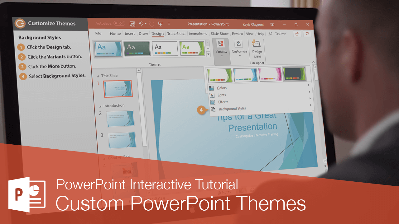 Custom PowerPoint Themes