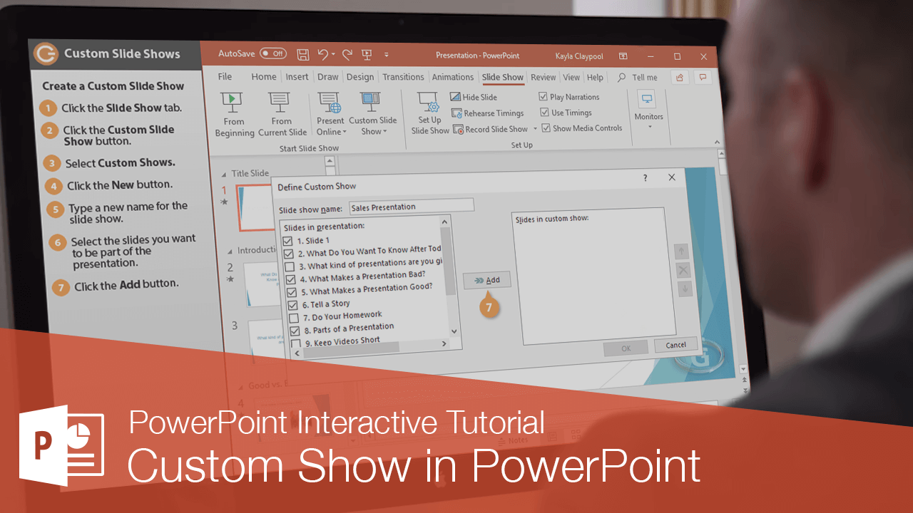 Custom Show in PowerPoint