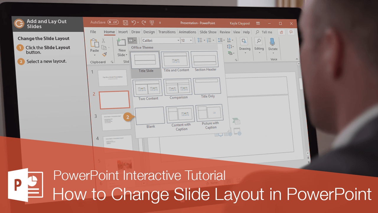 How to Change Slide Layout in PowerPoint