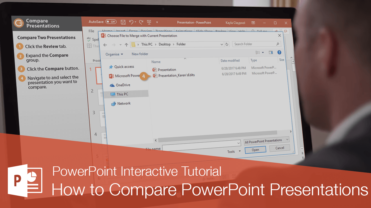 How to Compare PowerPoint Presentations