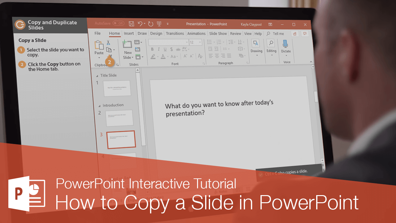 How to Copy a Slide in PowerPoint
