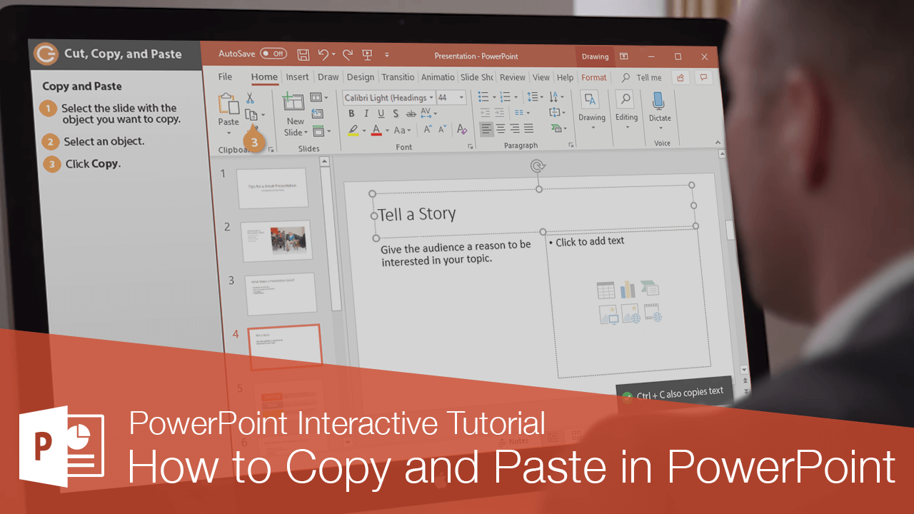 How to Copy and Paste in PowerPoint