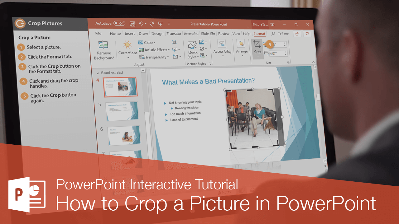 How to Crop a Picture in PowerPoint
