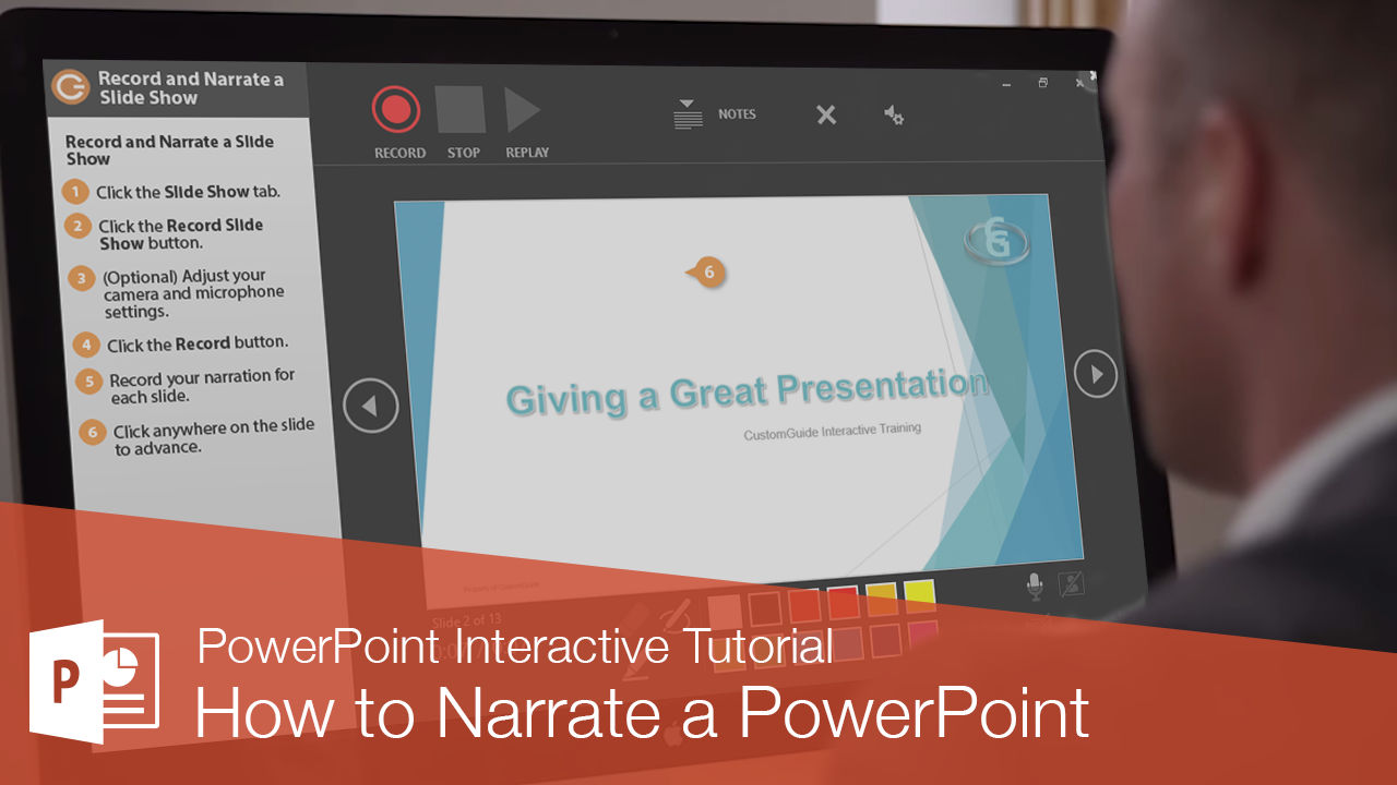 How to Narrate a PowerPoint