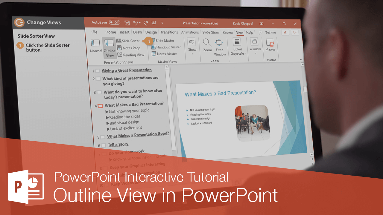 Outline View in PowerPoint
