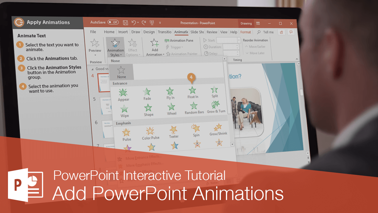 Add PowerPoint Animations