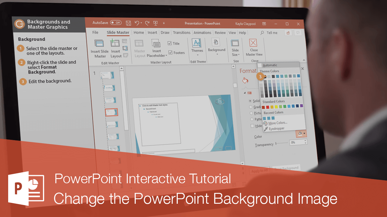Change the PowerPoint Background Image