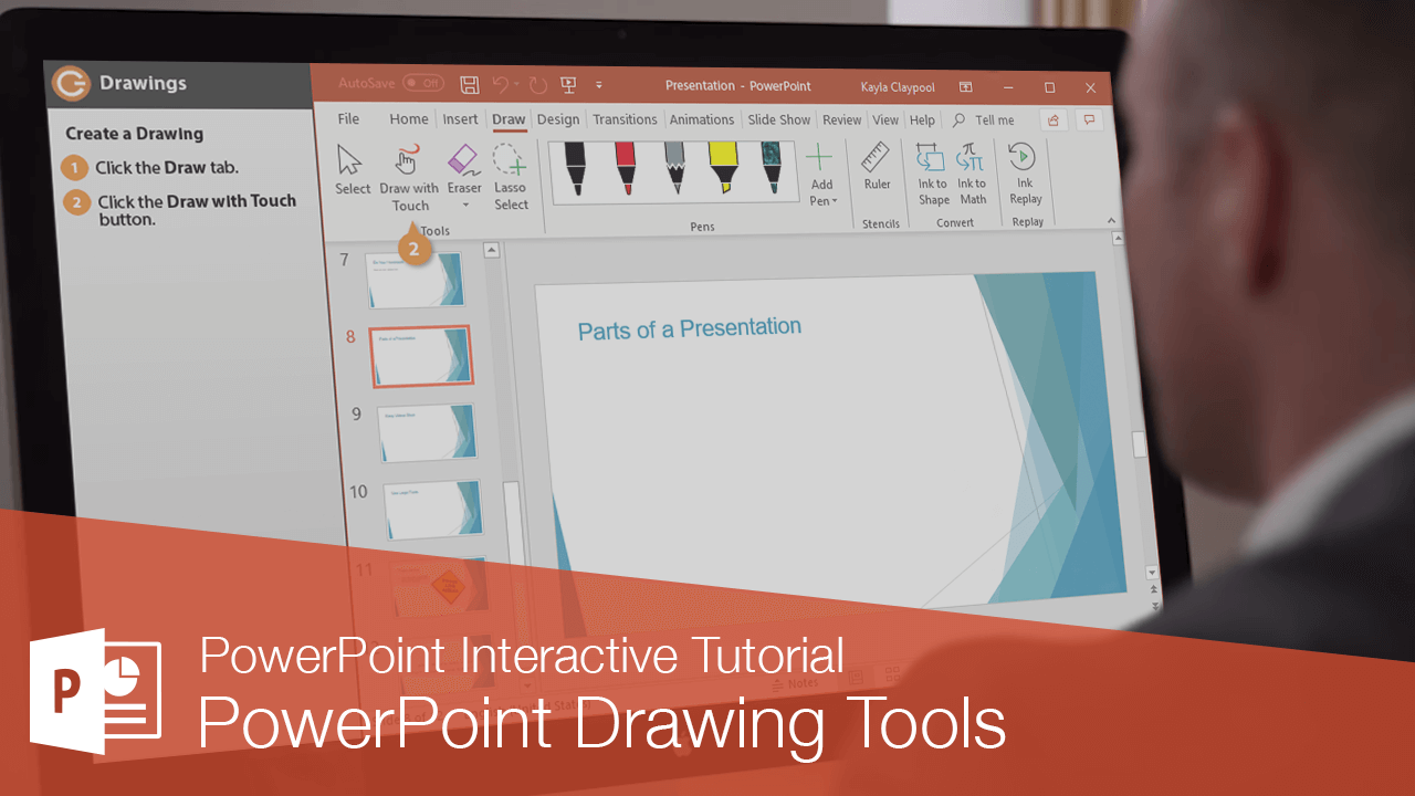 PowerPoint Drawing Tools