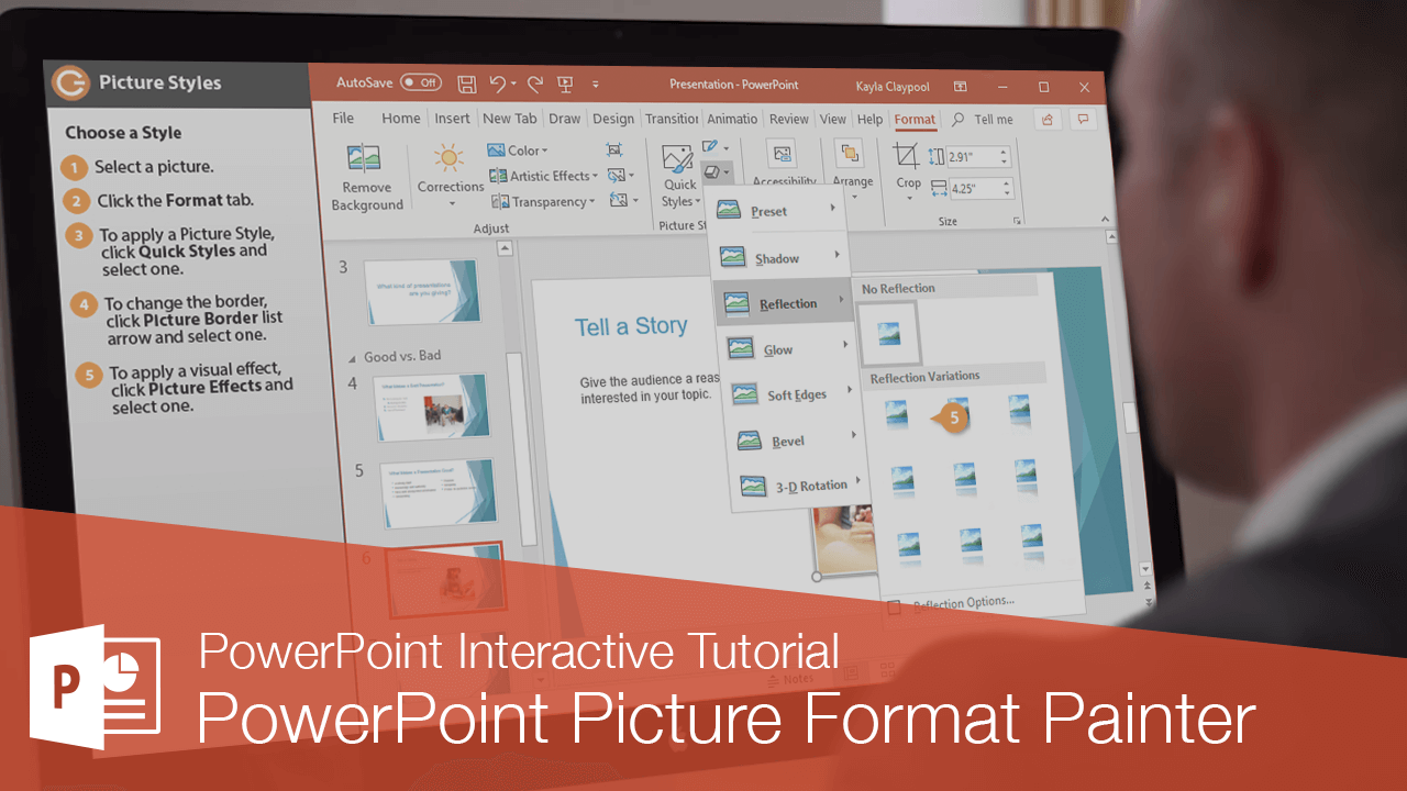 PowerPoint Picture Format Painter