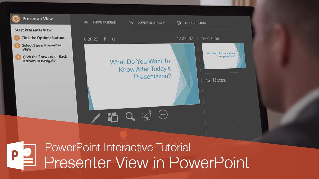 Presenter View in PowerPoint