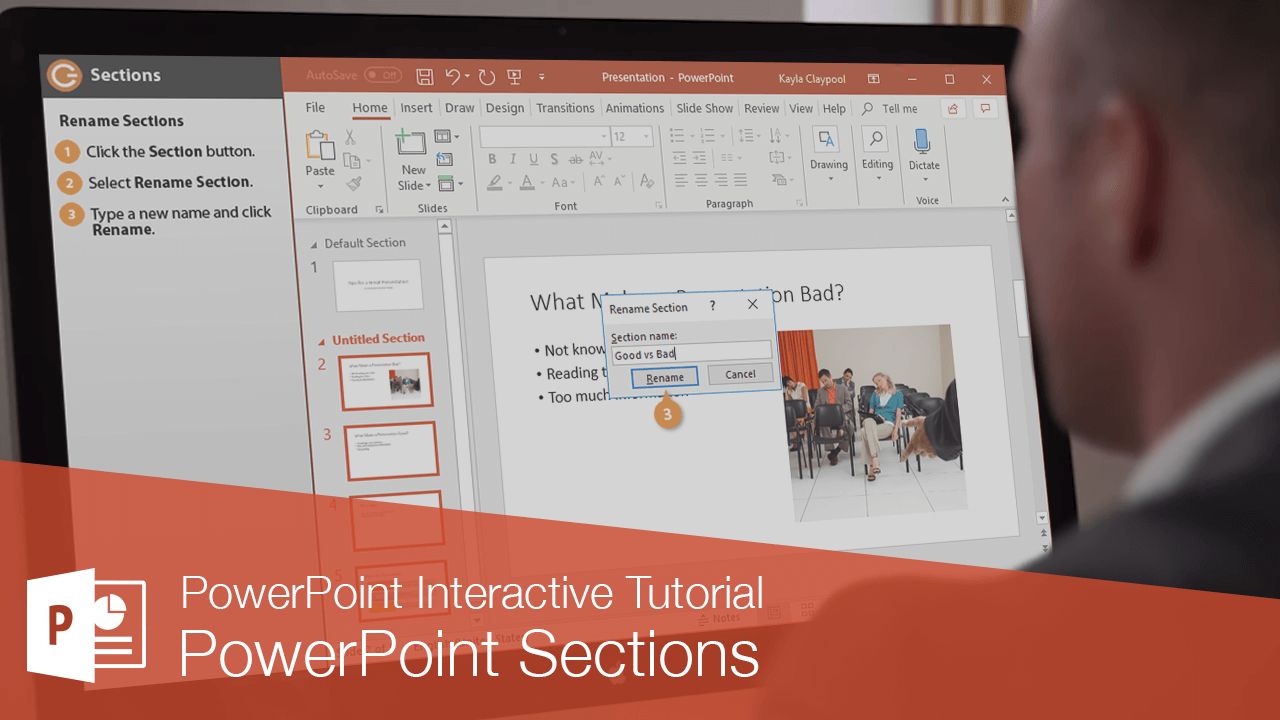 PowerPoint Sections