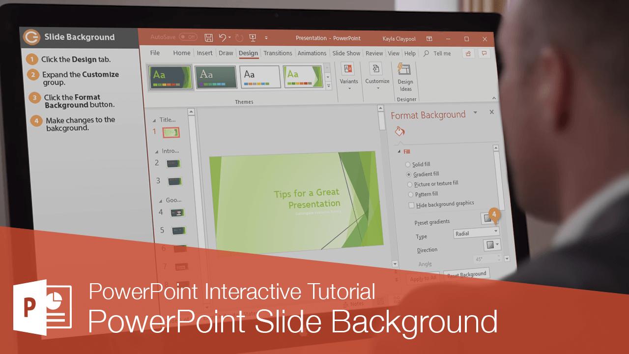 PowerPoint Slide Background