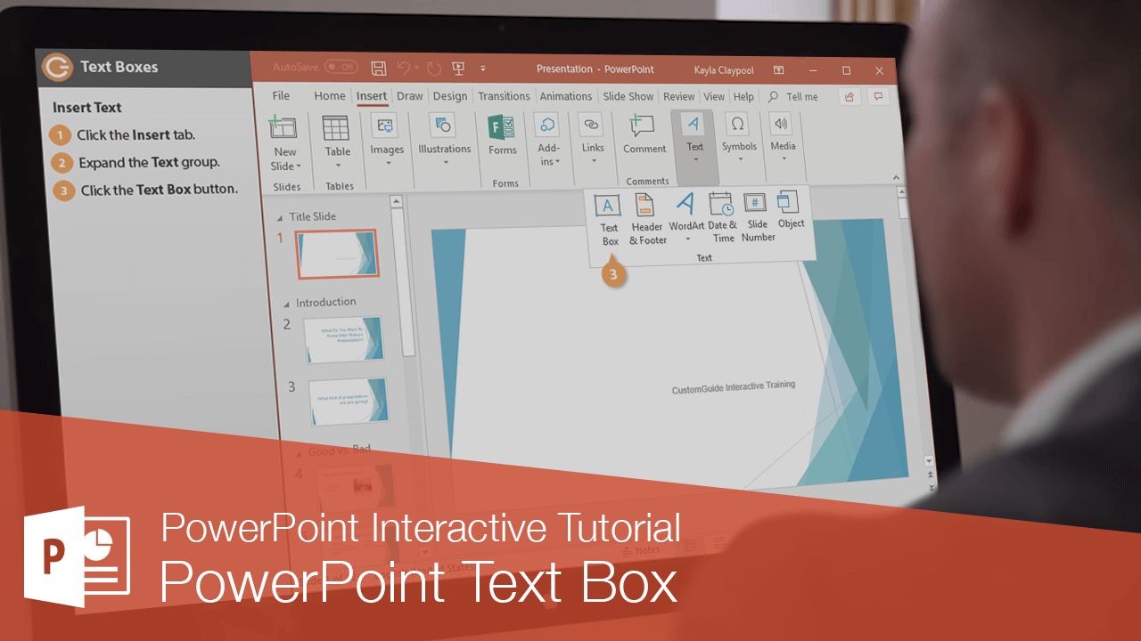 PowerPoint Text Box