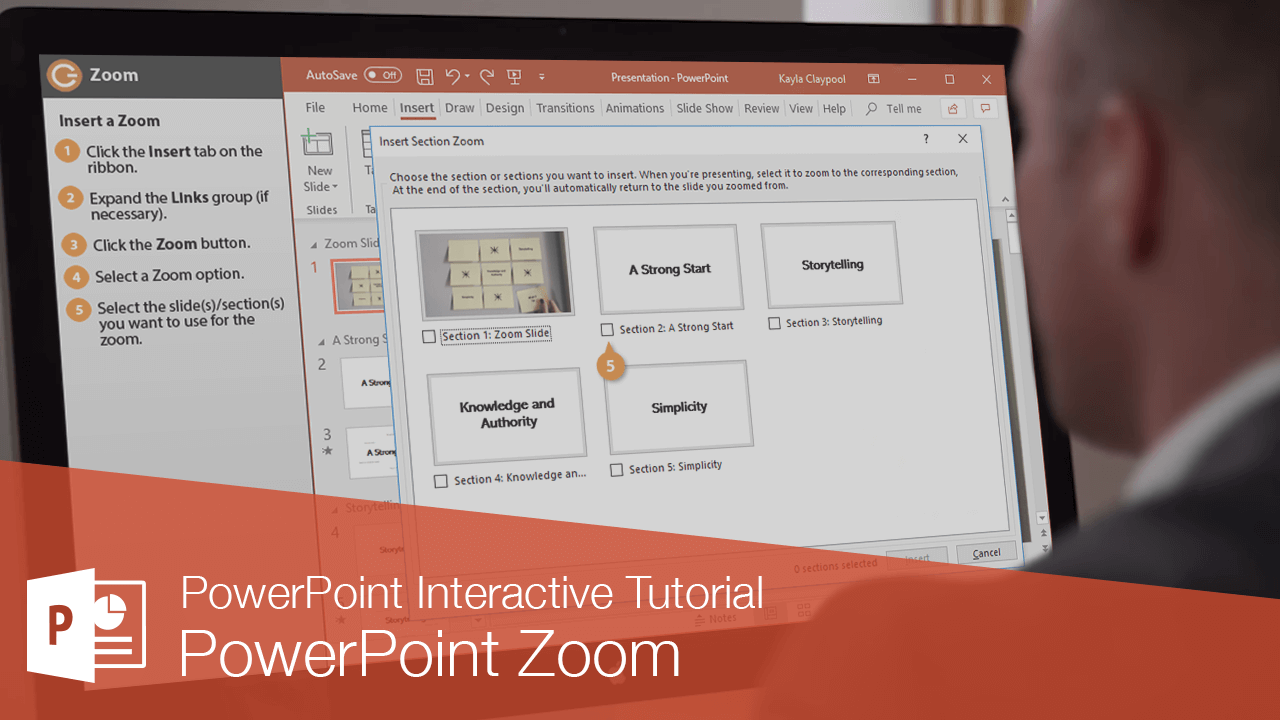 PowerPoint Zoom