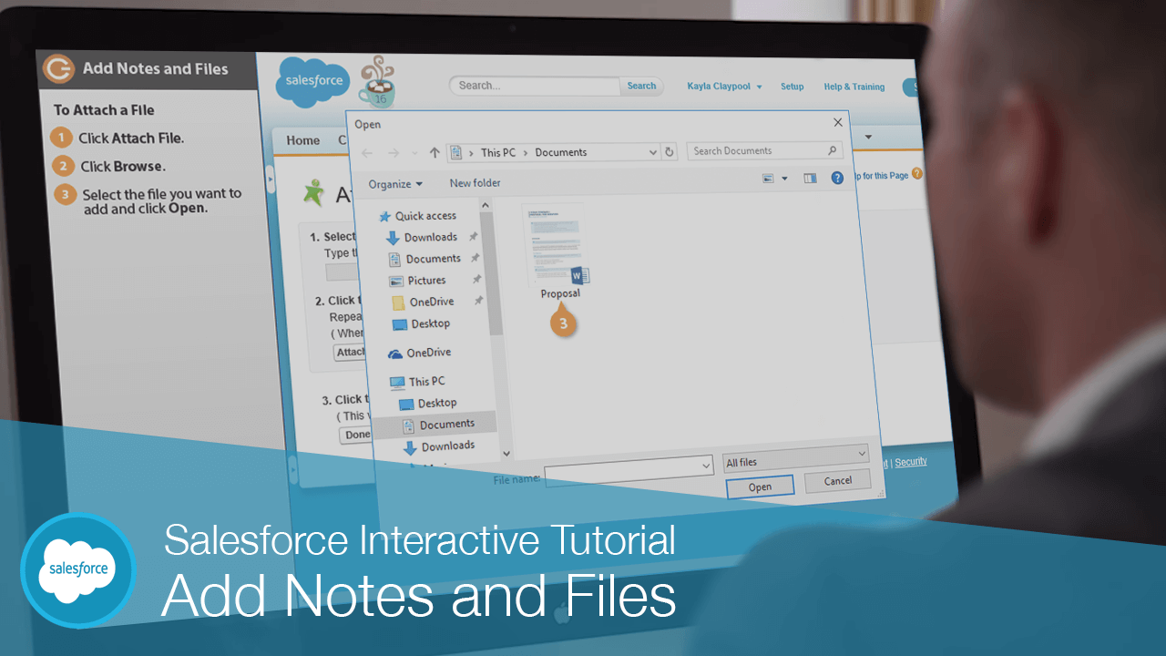 Add Notes and Files