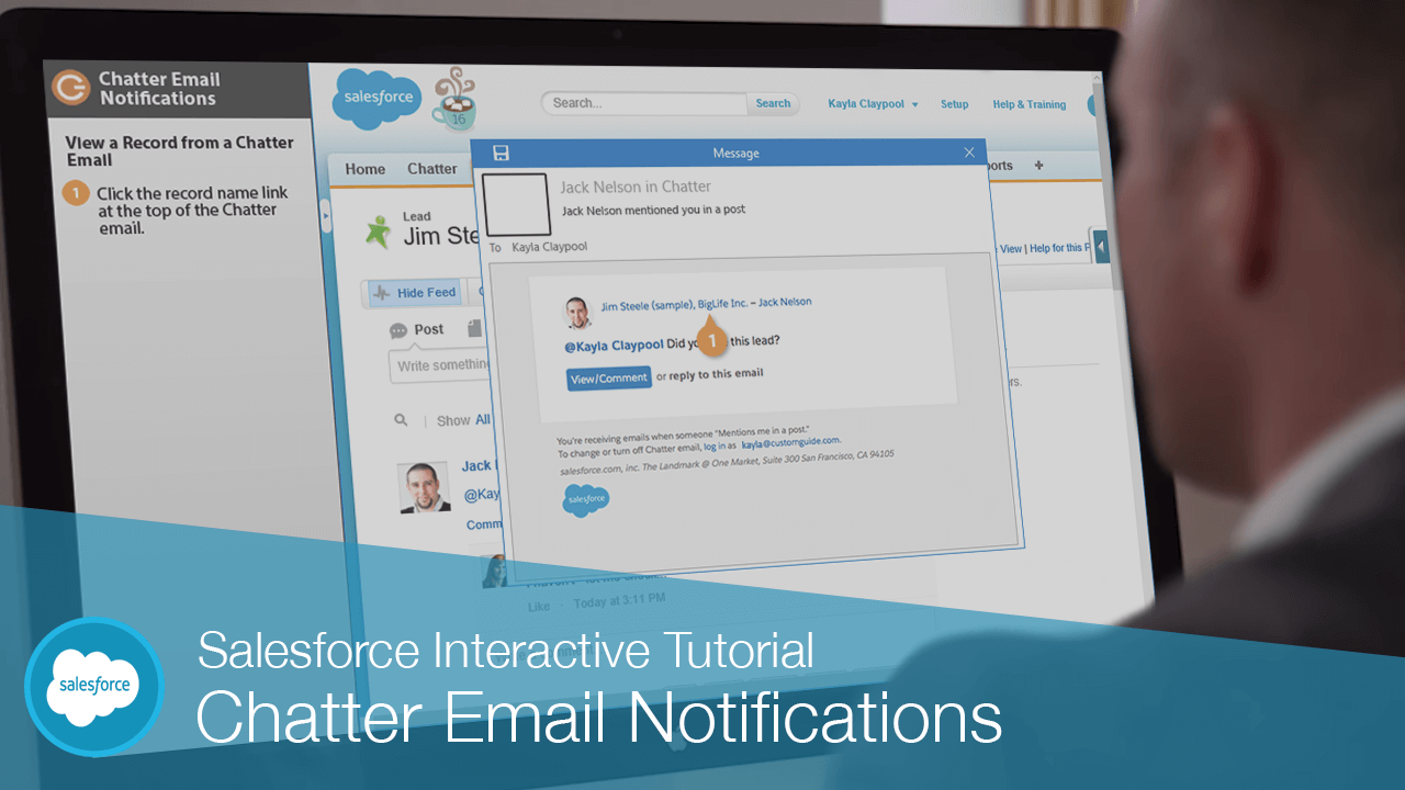 Chatter Email Notifications