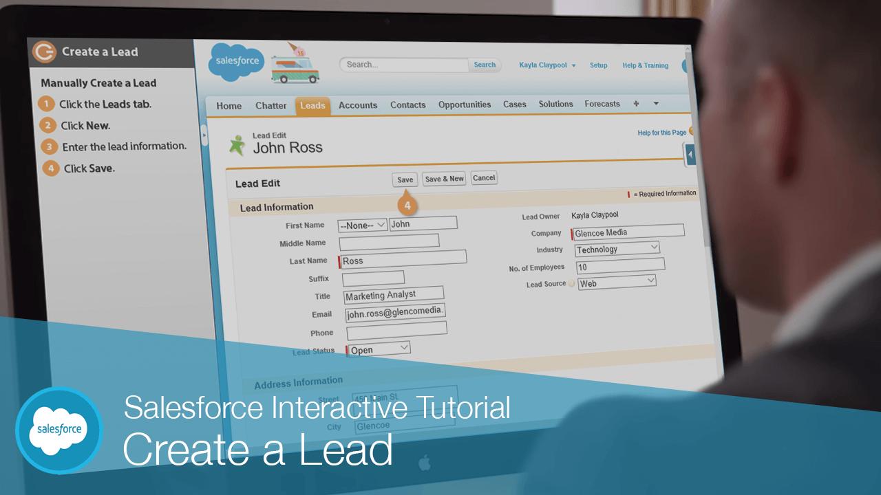 Create a Lead